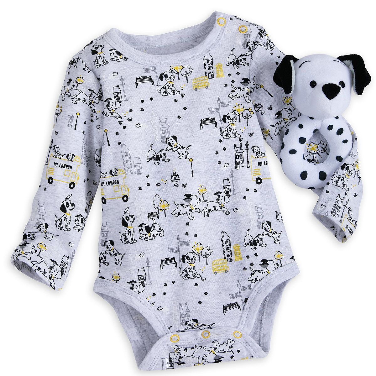 101 Dalmatians Gift Set For Baby Disney Baby Clothes Kids Disney Outfits Baby Boy Disney