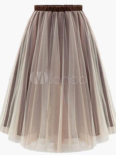 Beautiful Cotton Blend Skirt For Women -No.1