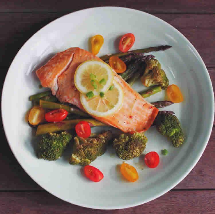 Papillote au saumon et aux légumes ww – un plat à 0 SP.