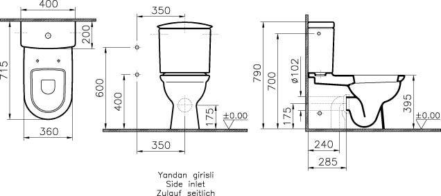 Standart Banyo ölçüleri Googleda Ara Teknik çizim Design