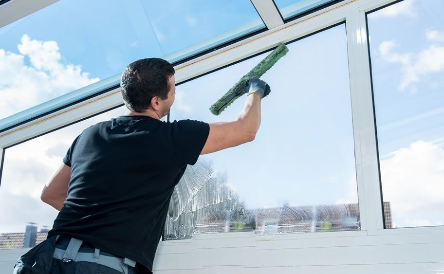 By Hiring Professional Windows Cleaning In Alexandria Va You Can Make Your Place Clean An Window Cleaning Services Window Cleaner Commercial Cleaning Services
