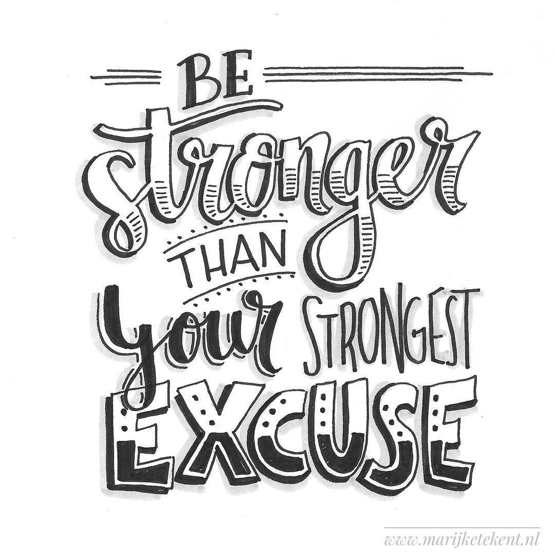 """Marijke Vanhommerig on Instagram: """"Dag 26  dutchlettering van februari 2018. . . . . . . . . . .  typography  calligraphy  brushcalligraphy  brushlettering  quote  lettering…"""""""