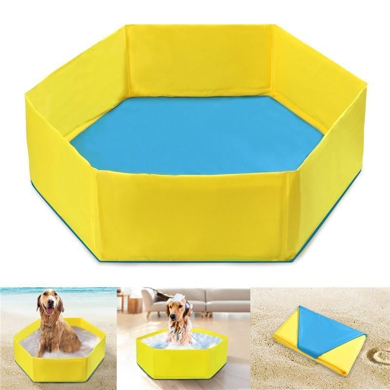 Pet Paddling Pool Pets Pet Puppy Dog Pool
