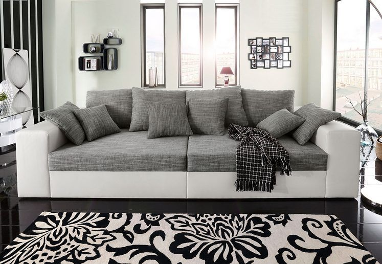 Big Sofa Wahlweise In Xl Oder Xxl Big Sofas Sofa Modern Couch