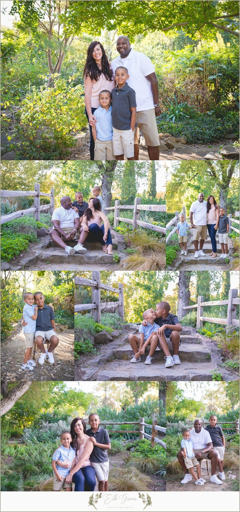 Family of 4. Family Photography by Elk Grove Photography - Natural ...