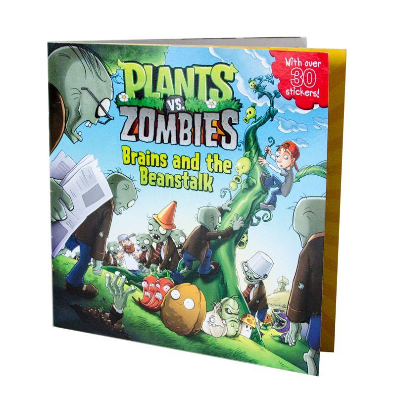 Plants vs. Zombies: Brains and the Beanstalk Book | plants vs ...