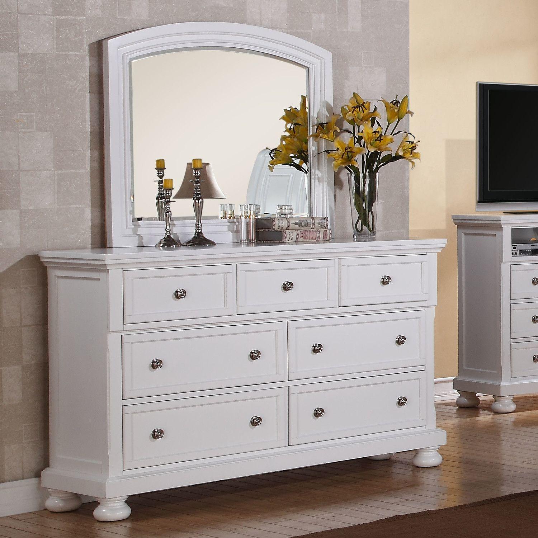 Glory Furniture 7 Drawer Dresser Bedroom dressers, White