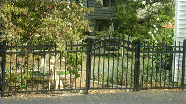 Ornamental Residential fence from Mills Fence Company