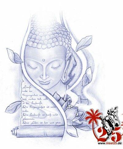 Pin Von Anjali Auf Tatts Tattoo Insel Buddha
