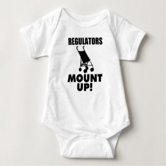 Regulators Mount Up, Funny Baby boy shirt