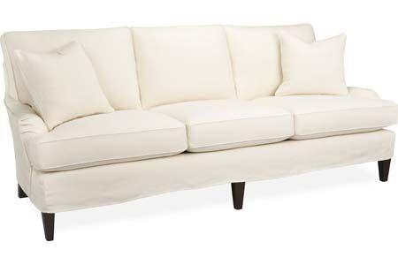 Lee Industries C1563 03 Slipcovered Sofa