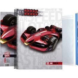 #Cuadernos DIN-A4 y DIN-A5  #Grafoplás #F1 #formula1 #materialescolar #materialoficina