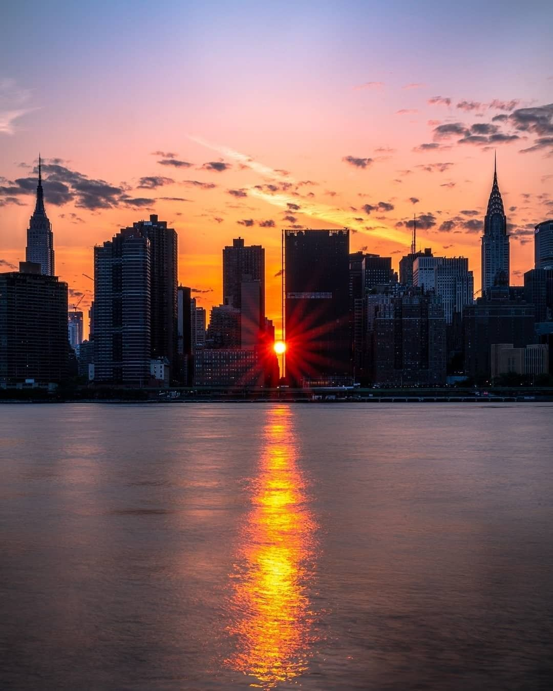 Nycgo On Instagram Link In Bio For The Best Spots To Observe Manhattanhenge Which Returns Tonight And Tomorrow J In 2021 Sunset City Sunrise City New York Pictures