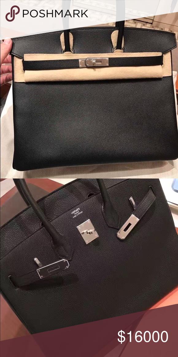 d088d717bd Brand New Hermès Noir Empson35 Birkin Bag Full Set Condition: Brand New  Color: Black Size: 35 Buying Location: Italy Original Receipt: Yes Original  Box: Yes ...