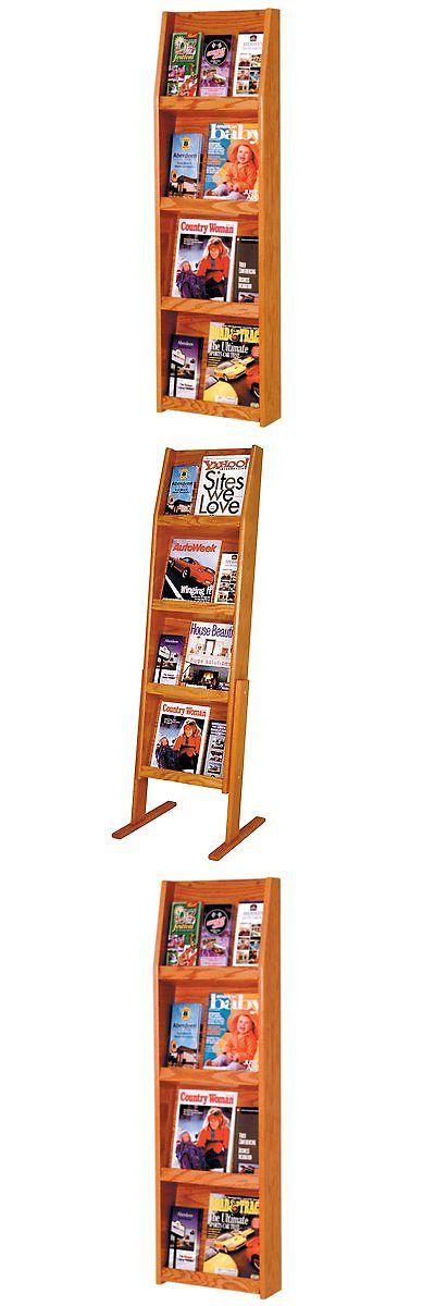 Magazine Racks 38223 4 Shelf Vertical Magazine Brochure