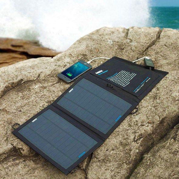 Anker Portable Foldable Solar Charger - Charge your devices with the power of the sun.