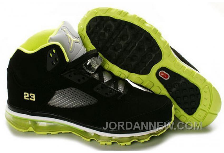 Air Max Jordan 5 Noir Et De Chaux