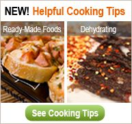 Nuwave Cooking Club - dehydrating tips