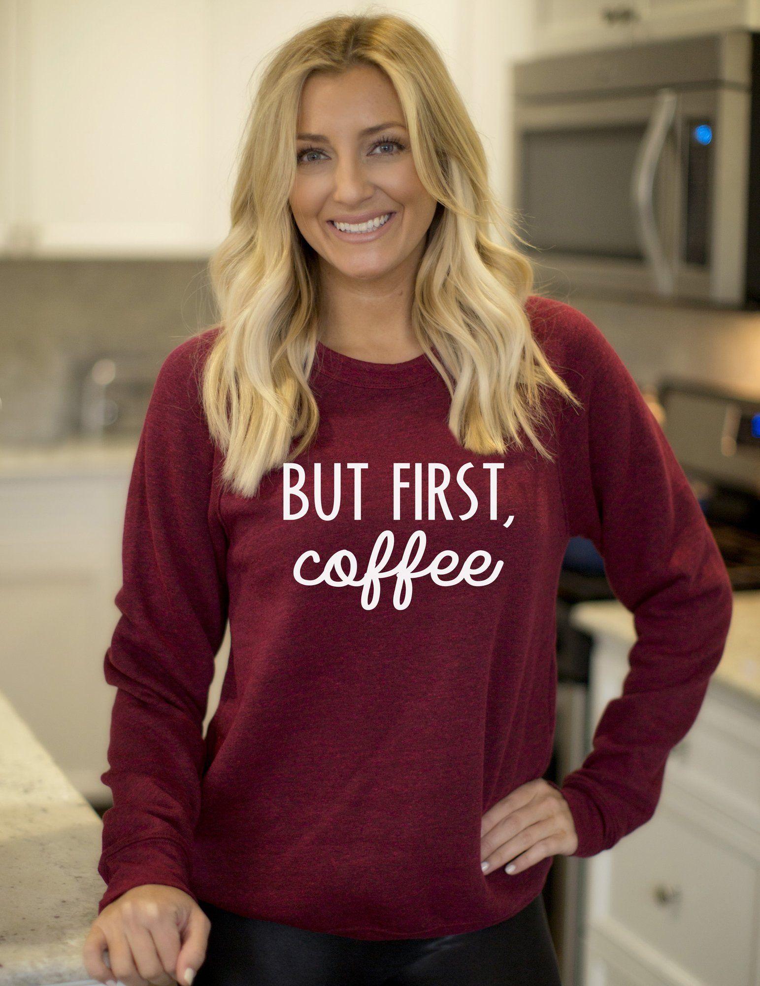 But First Coffee Pullover Sweatshirt Coffee Shirt Starbucks Fleece Sweater Coffee Drinker Coffee Sweashirt Coffee Lover Fleece Sweater Coffee Shirts Unisex Sweatshirt [ 2000 x 1543 Pixel ]