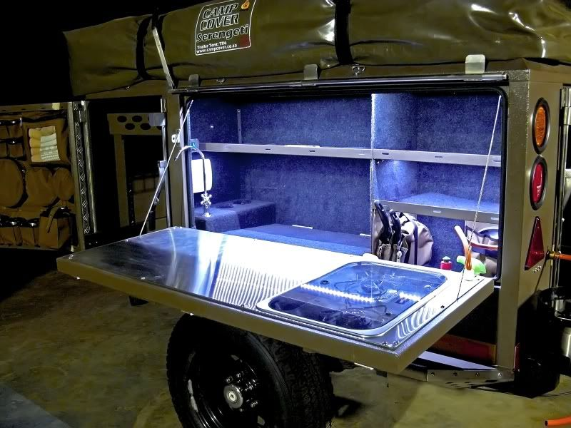 Metalian Maxi Super Thread Camping Trailer Diy Lightweight