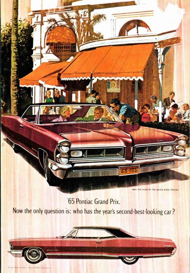 1964 #vintage #ad #magazine #old #car #pontiac | Ad Vintage ...