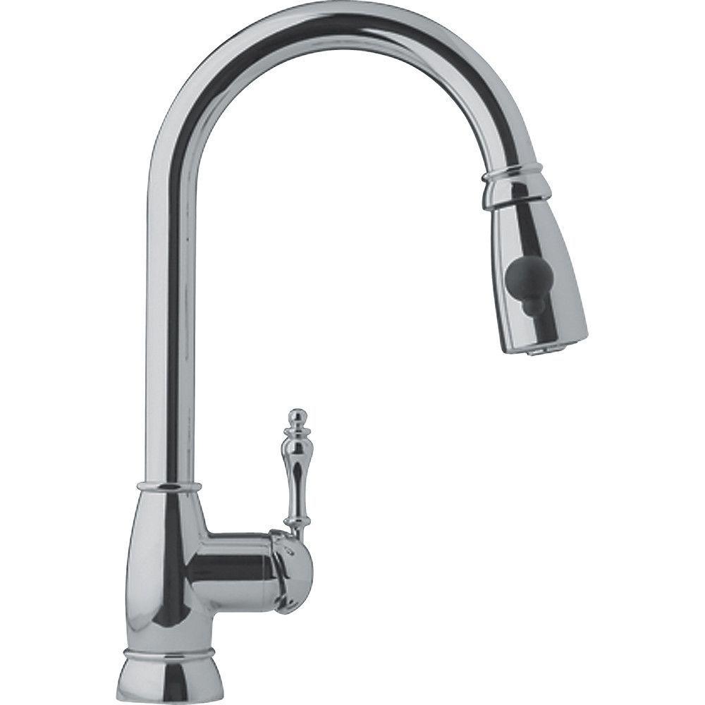 Farmhouse single handle kitchen faucet kitchen faucets faucet and