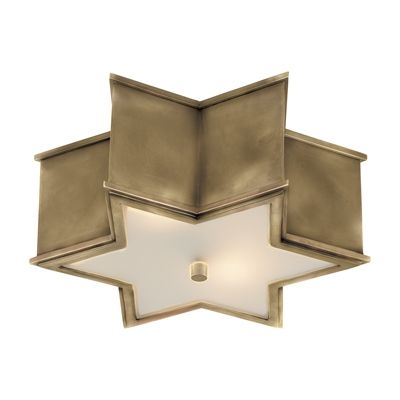 Visual Comfort Ah4016 Alexa Hampton Sophia Flush Mount Ceiling Light Visual Comfort Light
