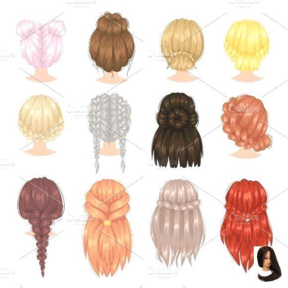 Bangs Cute Easy Easy Hairstyles Drawing Formal Hairstyles Bangs Cute Drawing Easy In 2020 Formal Hairstyles Easy Formal Hairstyles Hairstyles With Bangs