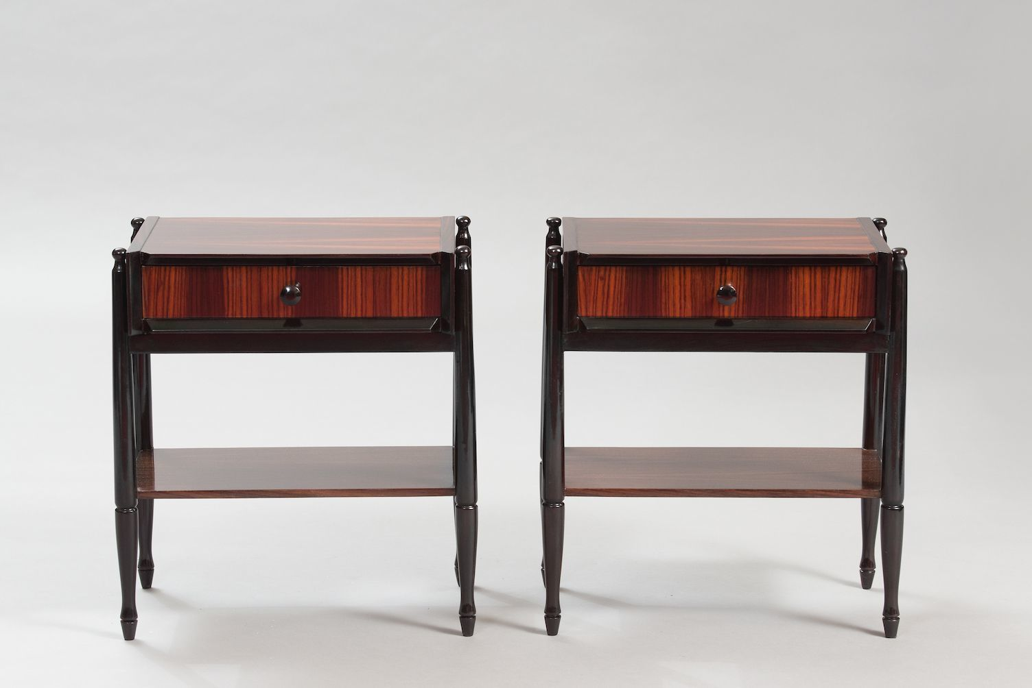 Best Mid Century Italian Rosewood Nightstands Set Of 2 640 x 480