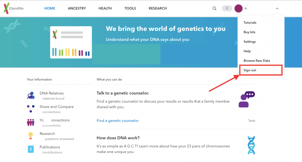 How To Login To Your 23andMe Account Includes A 2020