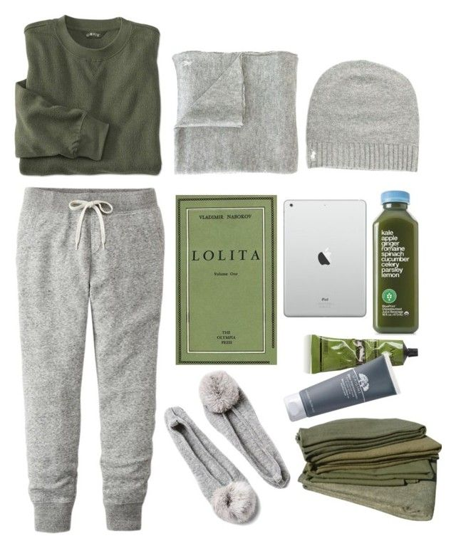 """cozy saturday morning"" by iamcelinenguyen ❤ liked on Polyvore featuring Polo Ralph Lauren, Uniqlo, Aesop and Origins"