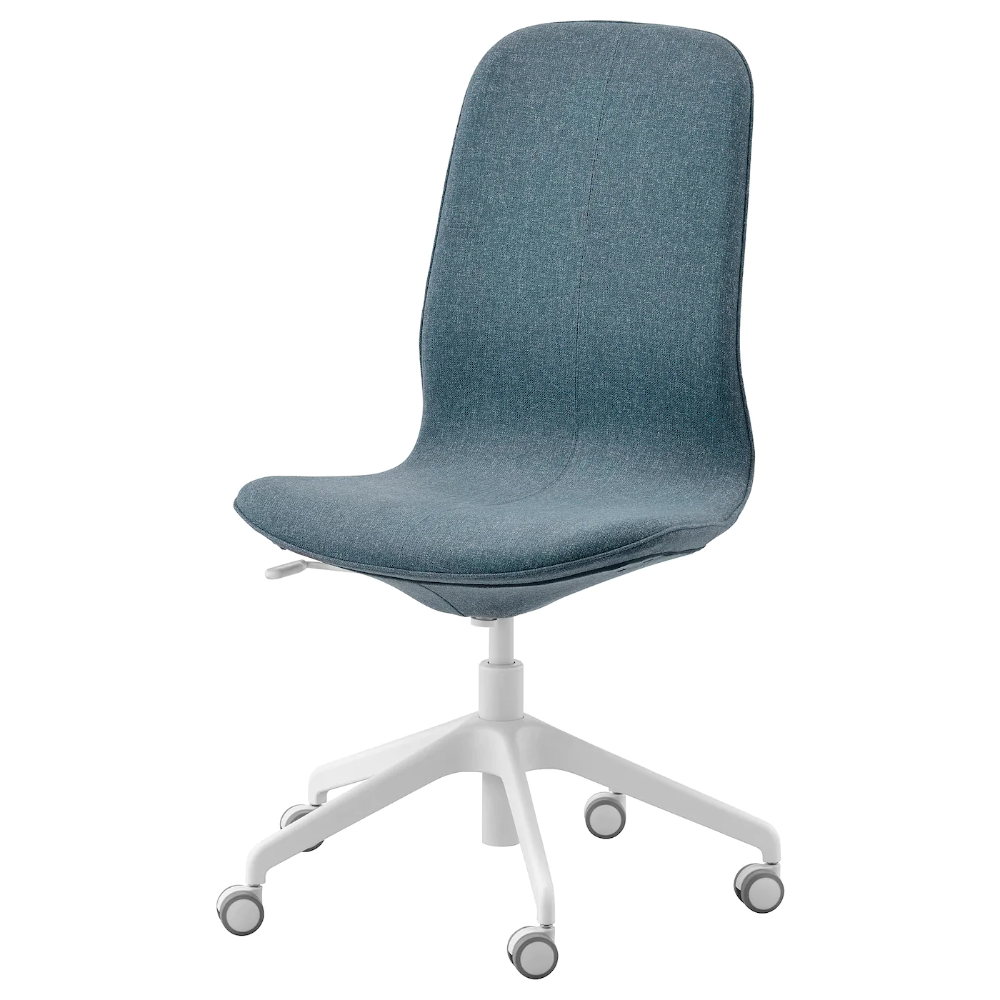 Langfjall Office Chair Gunnared Blue Width 26 3 4 Order Today Ikea In 2020 Office Chair Chair Ergonomic Office Chair