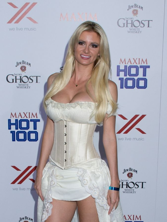 April Rose Hot April Rose Cleavage Maxim Hot 100 Party Hottest