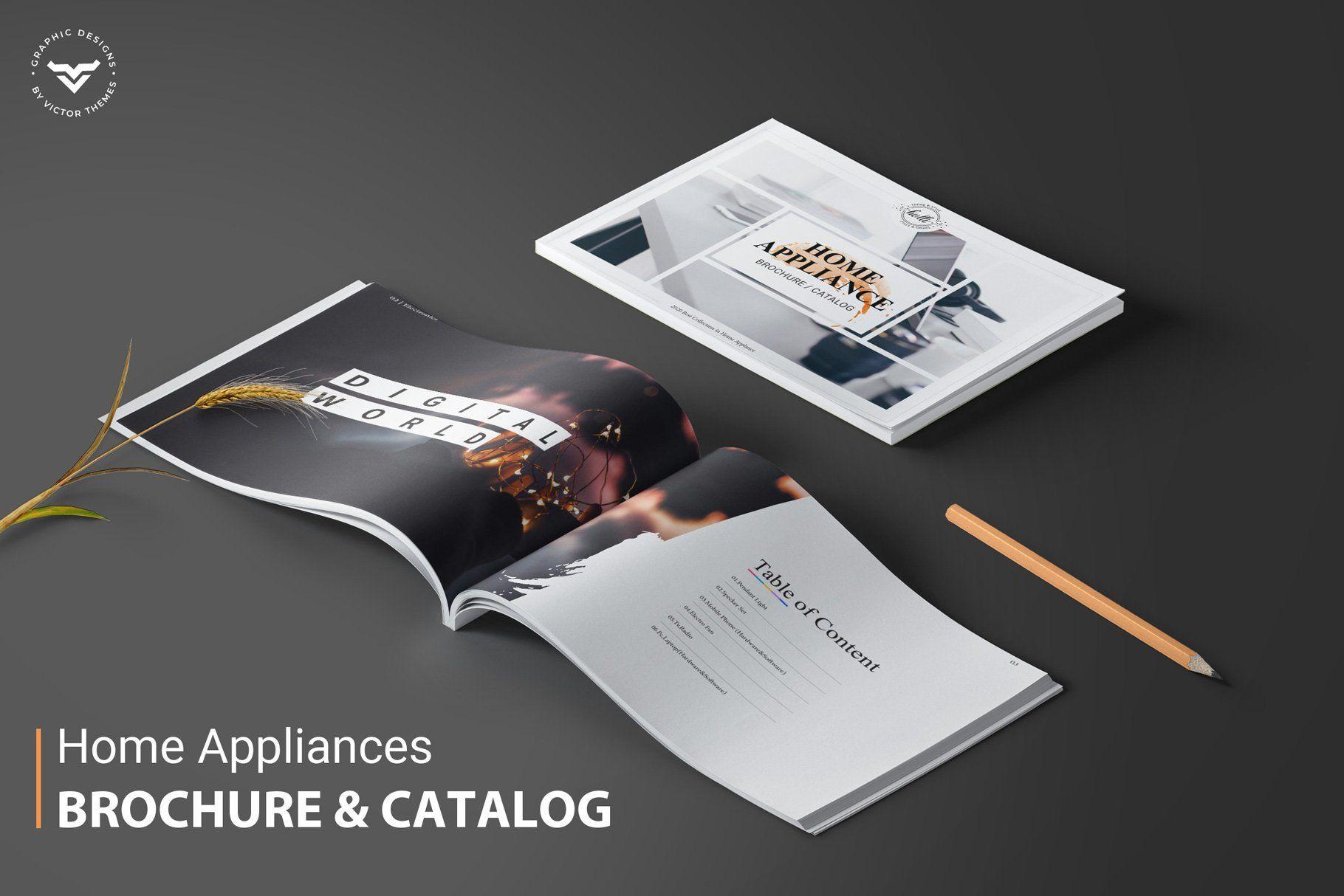 Sign In Home Appliances Brochure Brochure Brochure Design Template Architecture Brochures