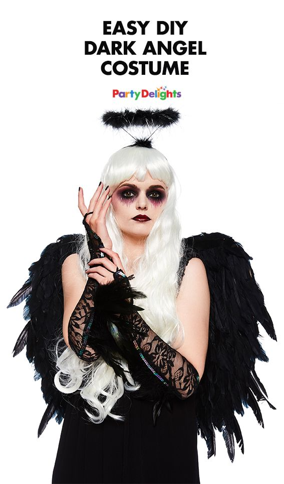 Diy dark angel costume for halloween easy halloween costumes looking for an easy halloween costume idea how about transforming yourself into a spooky dark angel read our diy dark angel costume ideas for inspiration solutioingenieria Gallery