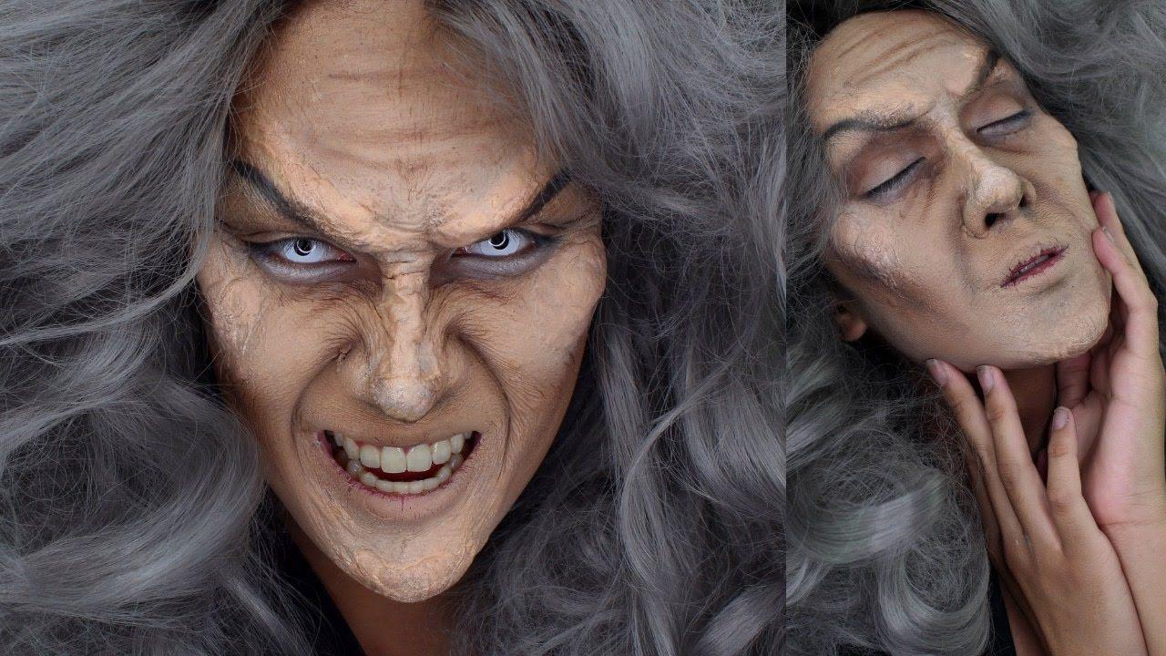 Evil Witch Halloween Makeup Tutorial YouTube Halloween