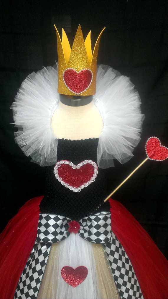 Queen of Hearts inspired Tutu Dress Costume by