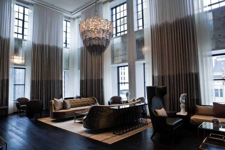 High Rise Design Interiors Living Room Chicago High