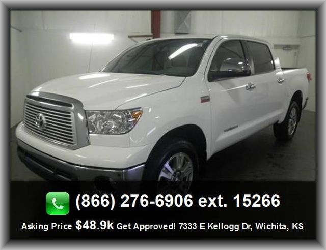 2013 Toyota Tundra Platinum Pickup  Fold Forward Seatback Rear Seats, Independent Front Suspension Classification,