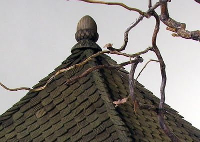 Roof Tutorial - Karin Corbin Miniatures: Acorn Cottage