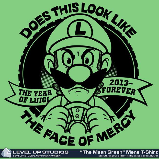 Does This Look Like The Face Of Mercy Samarretaxula Luigi