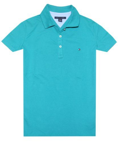 44745746 Tommy Hilfiger Women's Classic Fit Logo Polo T-Shirt - Listing price:  $65.00 Now: $34.99