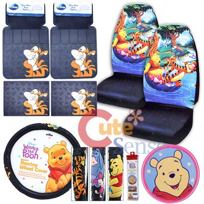 Winnie The Pooh Friends Car Seat Covers Accessories Tigger