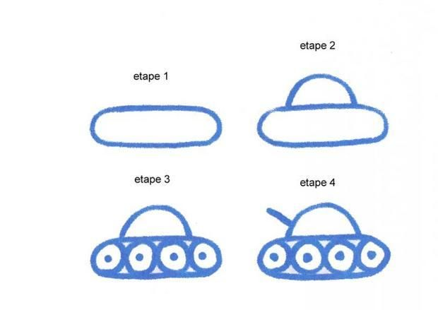 Apprendre à Dessiner Un Tank Dessins Simples En 2019