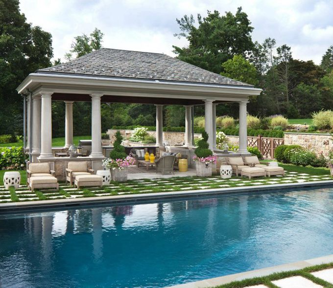 14 Comfortable And Modern Backyard Pool Ideas: Pool Houses, House Of