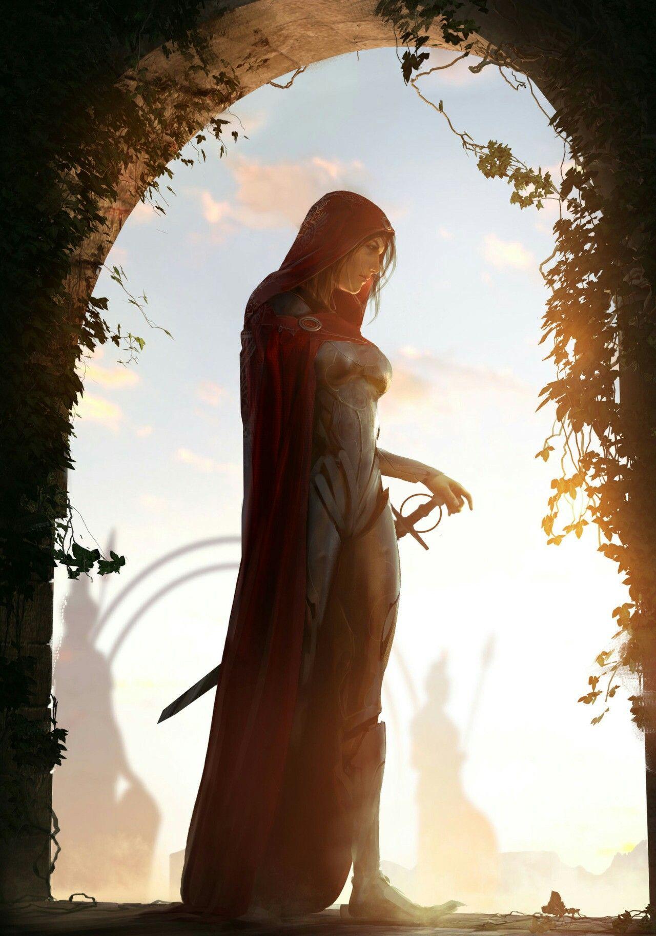 Morne, o primeiro templário mulher. Nós tempos iniciais do Império de Thivia, apenas homens carregavam armaduras. As mulheres, como era o costume, ficavam em sua casa cuidando daa crianças. Morne, foi a primeira mulher que negou esse destino. Desde pequena, ela ja era prodígio em várias artes. Mas sua favorita, era uma espada dada pelo seu avô, que por falta de netos homens, acabou treinando ela.