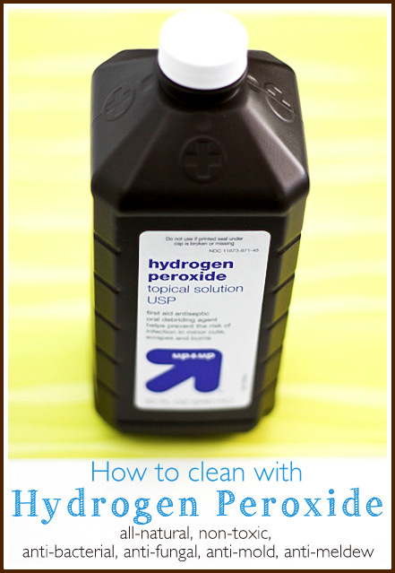 green cleaning cleaning with hydrogen peroxide cleaning how to tutorials pinterest. Black Bedroom Furniture Sets. Home Design Ideas