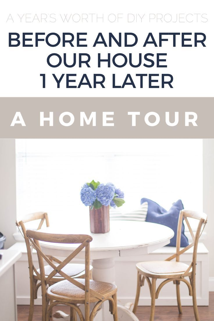 How we updated our entire house in 1 year.