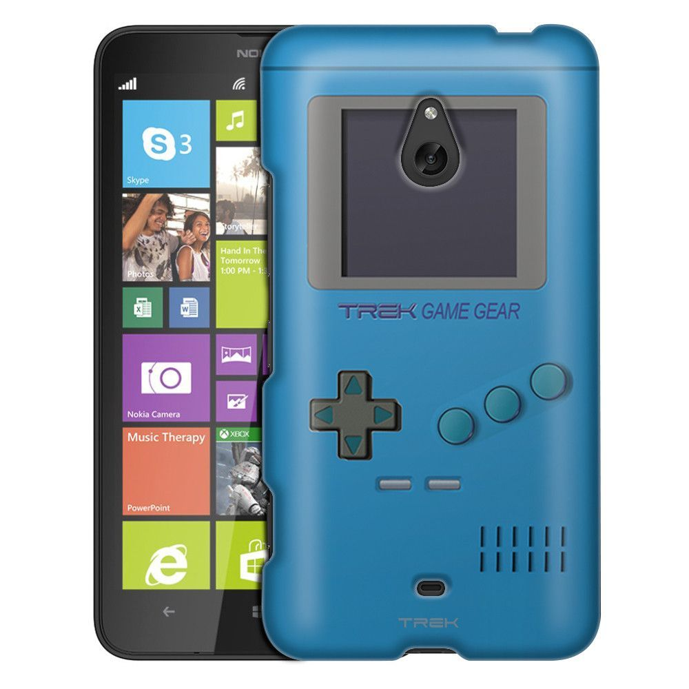 Nokia Lumia 1320 Old School Retro TREK™ Game Gear Blue Slim Case