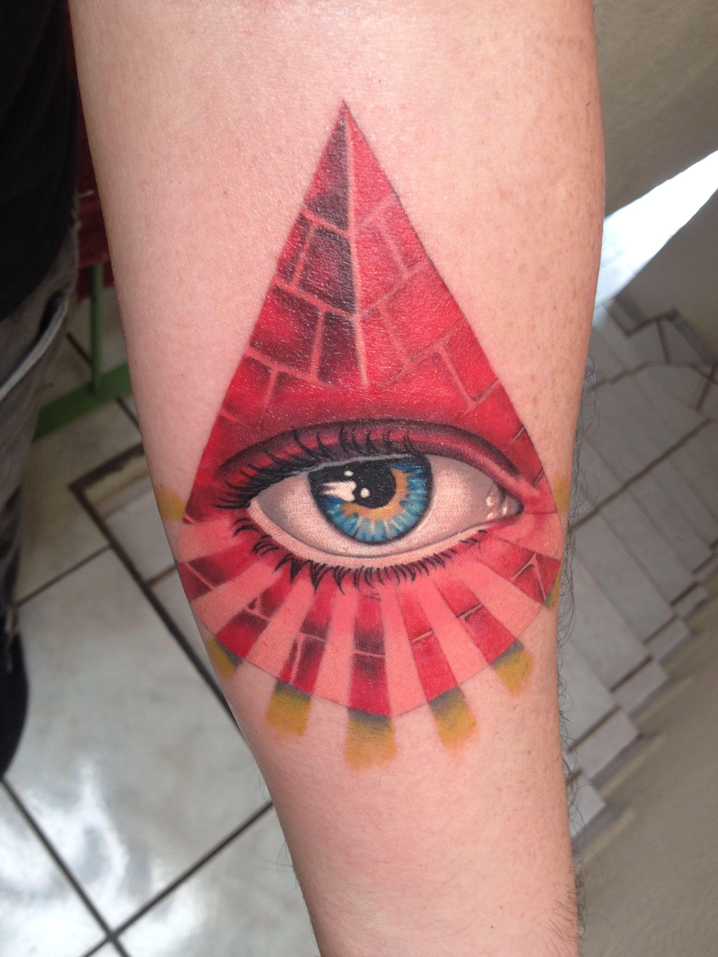 Third Eye Triangle Tattoo Tattoos